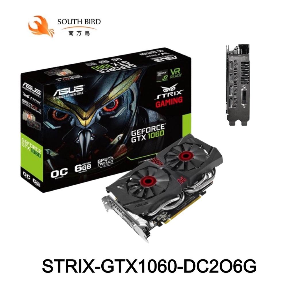 現貨 ASUS 華碩 STRIX GTX1060 DC26G 6G VGA 保內 原廠保固 顯示卡