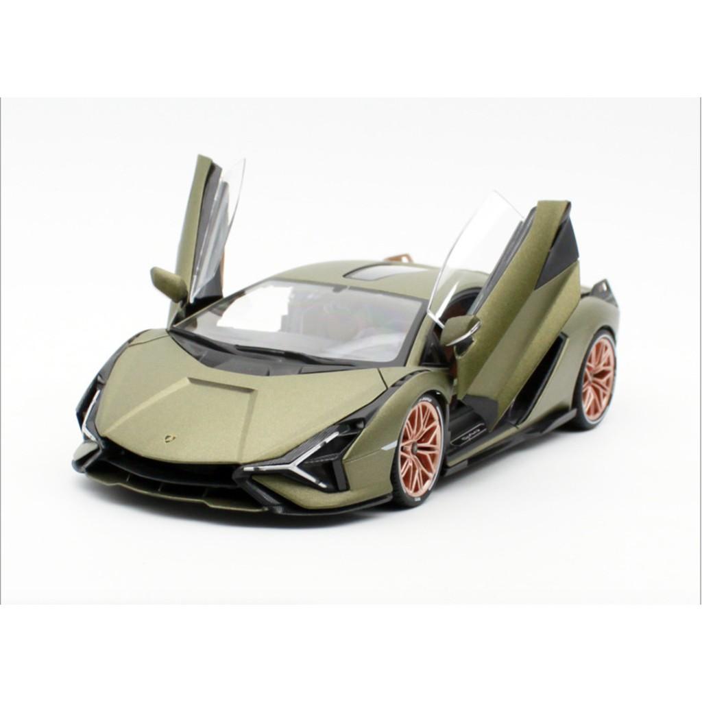 【MRW】bburago 1:18 藍寶堅尼 Lamborghini SIAN FKP37 超跑 改裝 合金 金屬 模型