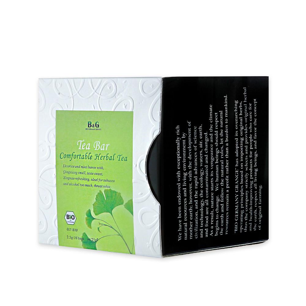 B&G 德國農莊 Tea Bar 舒福茶-茶包盒(10包入)