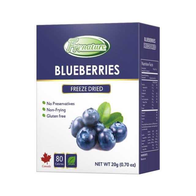 Frenature富紐翠 加拿大藍莓翠鮮果 凍乾 20g (冷凍 真空 乾燥 水果乾)