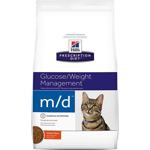 希爾思 Hills  M/D 貓用 體重管理 處方飼料 MD 4磅