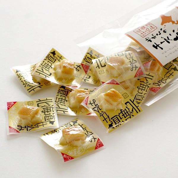 日本山榮北海道燻製一口起司花枝/起司干貝燒120g/起司干貝