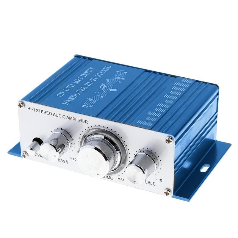~現貨~Kentiger-HY2001 家用迷你小型擴大機 電腦喇叭床頭喇叭擴大機