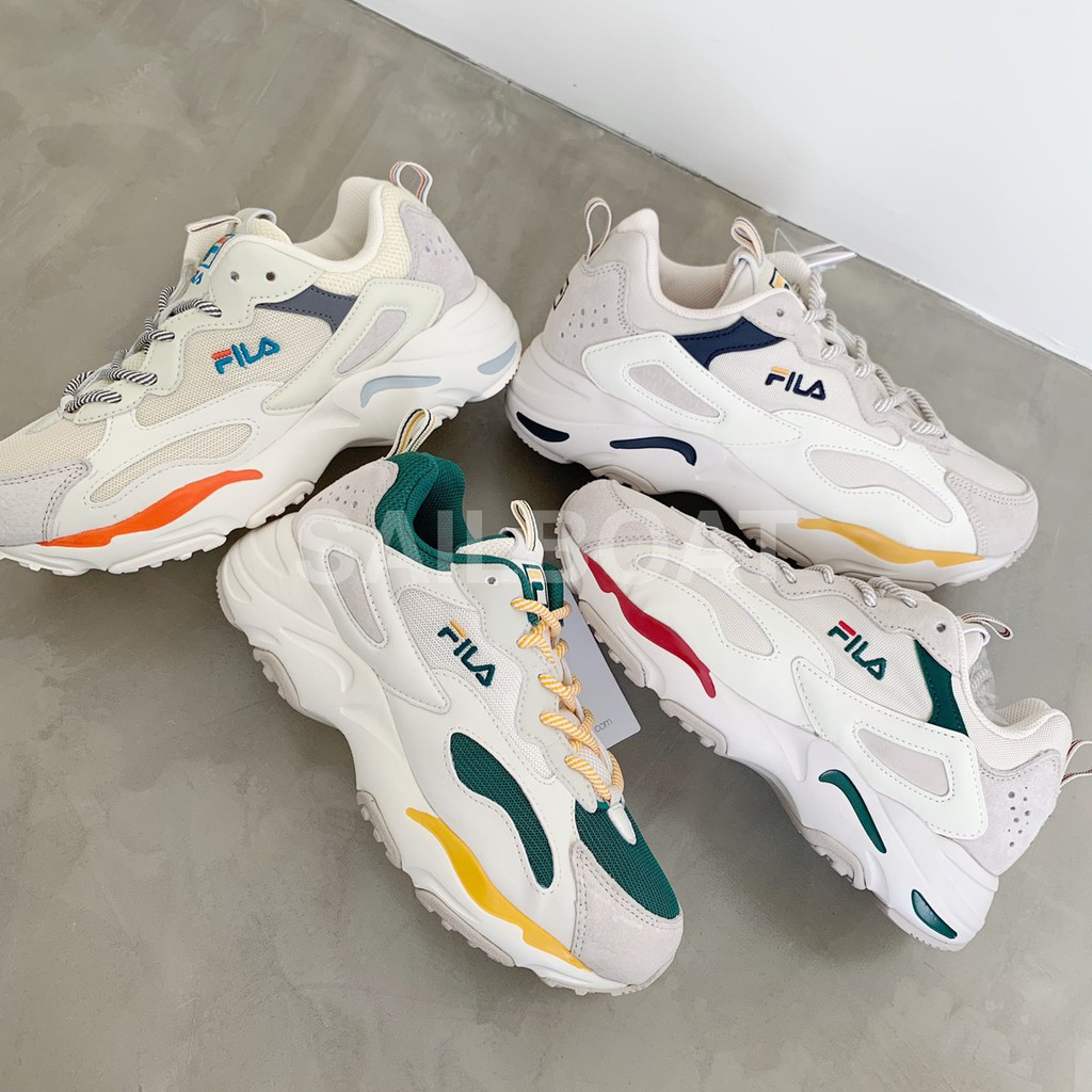 fila ray tracer green yellow Sale Fila Shoes, Fila Clothing & Accessories