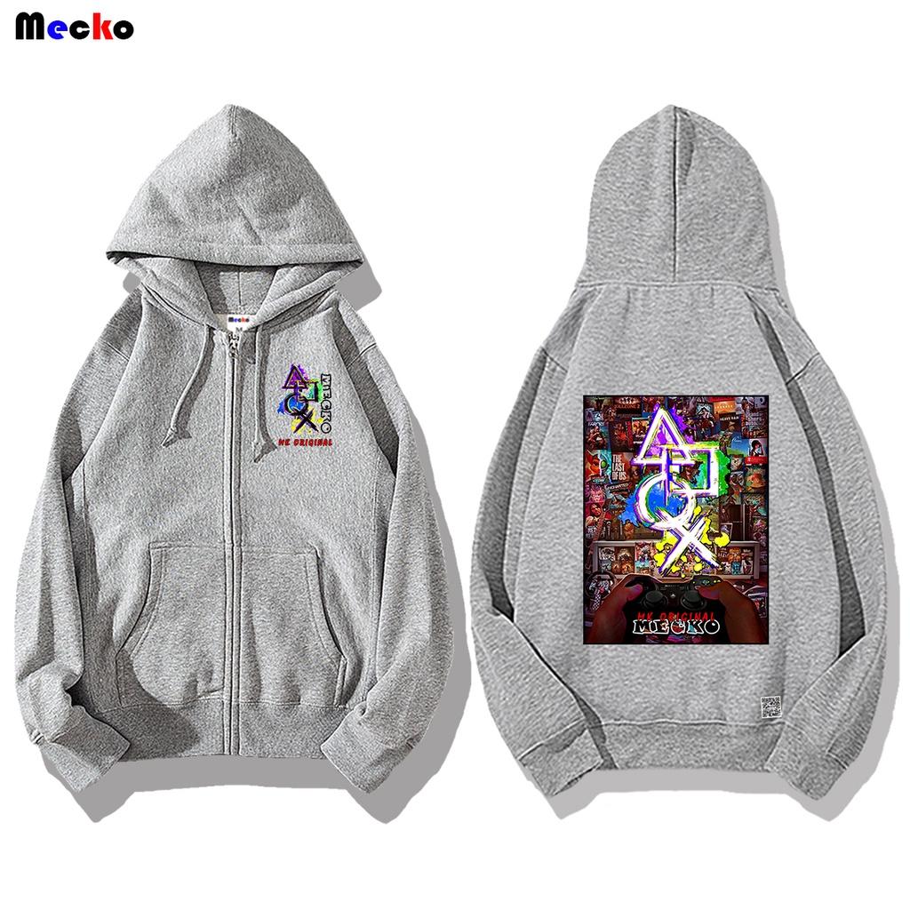 Mecko 魷魚遊戲 電玩世界 連帽外套 長袖上衣 衣服 潮流服飾 MJ-119