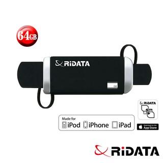 【破盤促銷】RIDATA錸德 OA2 Apple專用OTG隨身碟 64GB 臺北市