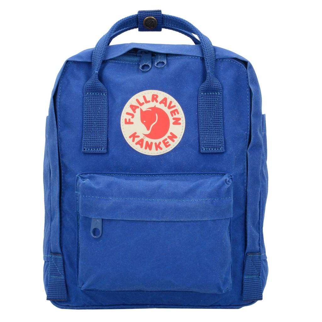 瑞典Fjallraven Kanken Mini F23561-527復古後背包 小型方型書包-寶藍色