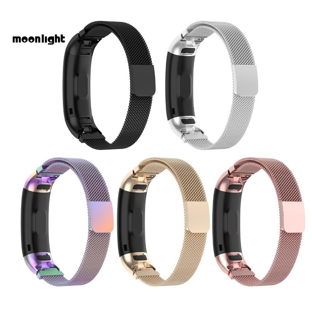 ▶ML 適用華為手環band3 ,華為手環band 3 pro, TER-B09, TER-B29通用米蘭回環錶帶