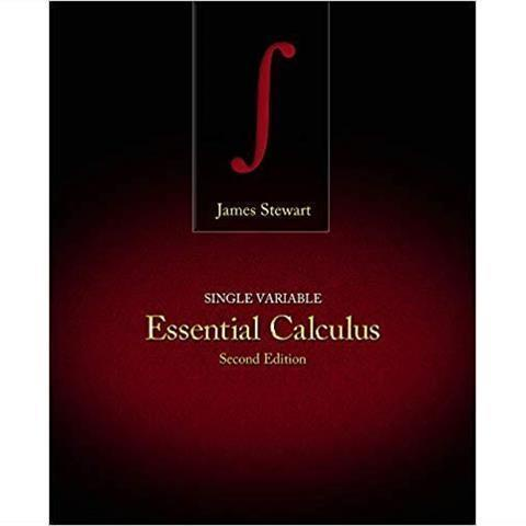 Single Variable Essential Calculus 2nd Edition實體書.影印版