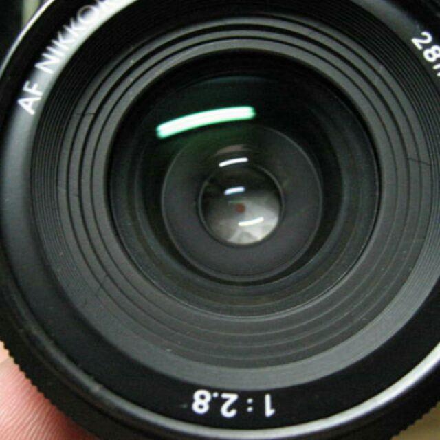 鏡頭 nikon 28mm f2.8 af ais 廣角 定焦
