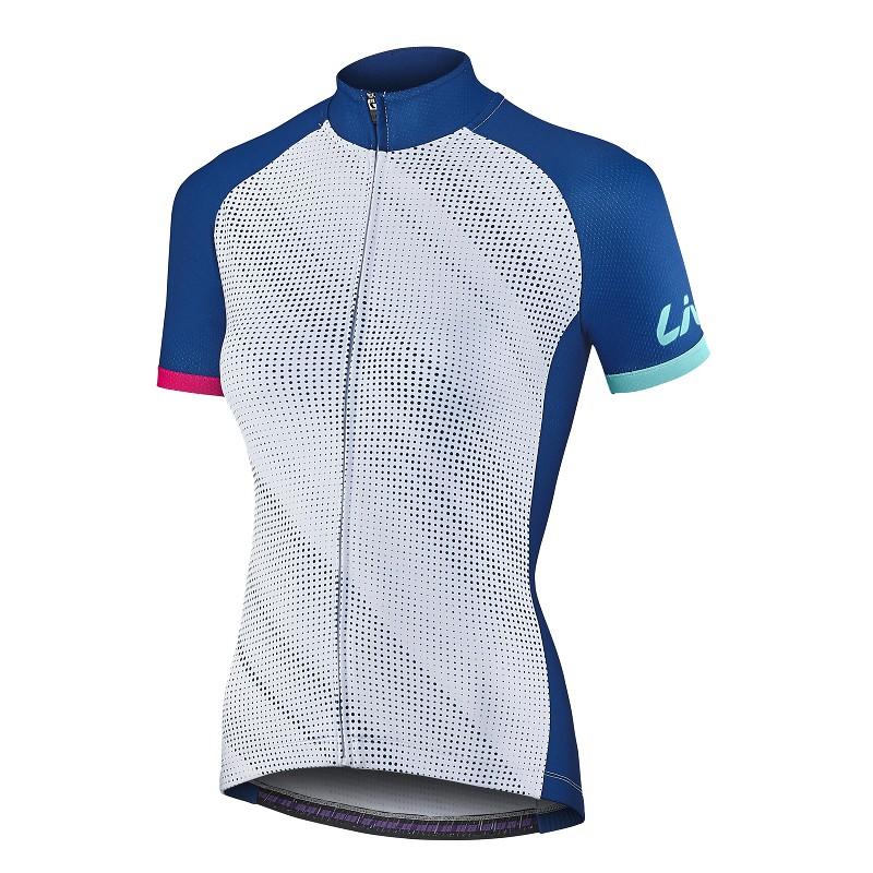 新款上市 捷安特 GIANT Liv Cella 女款短袖車衣 (限量版) 白/藍