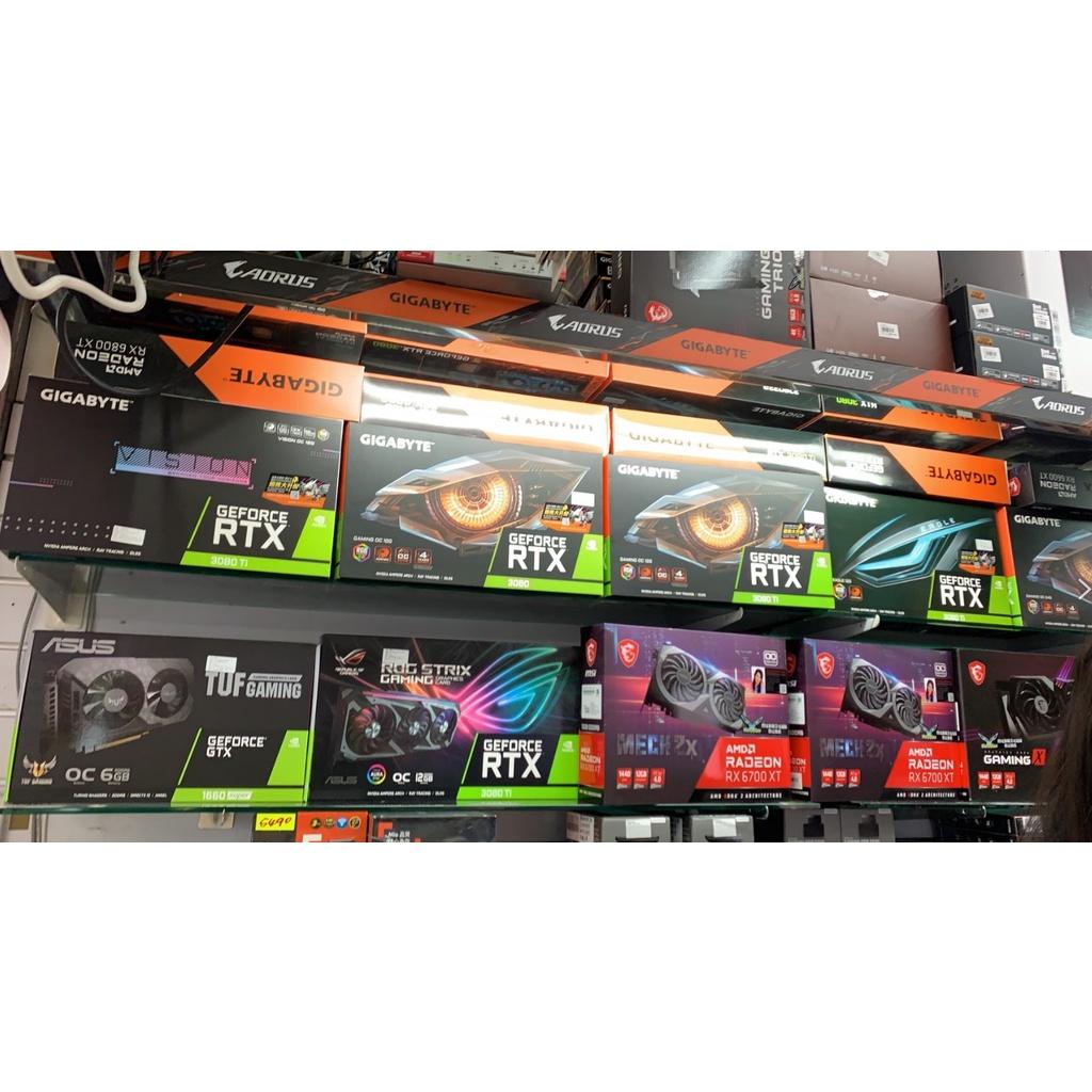 【RTX3080】技嘉GIGA 華碩 ASUS 微星 MSI ZOTAC NVIDIA 顯示卡 礦卡 優惠組合包 完整版