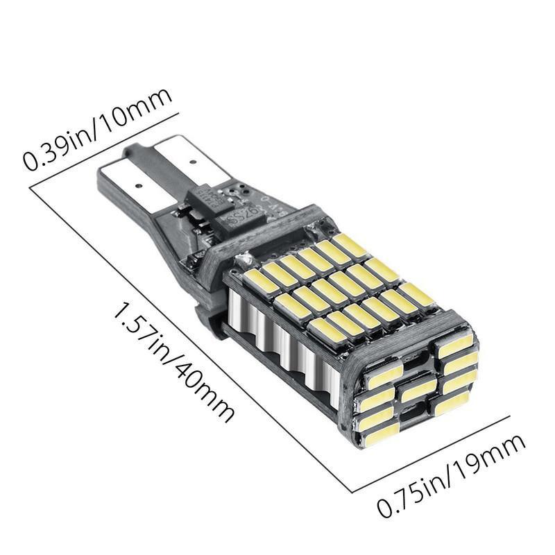 LED倒車燈 T15 T20 1156 4014 頂尖高亮45SMD 升級款超亮 led燈 煞車燈 方向燈 台灣保固半年