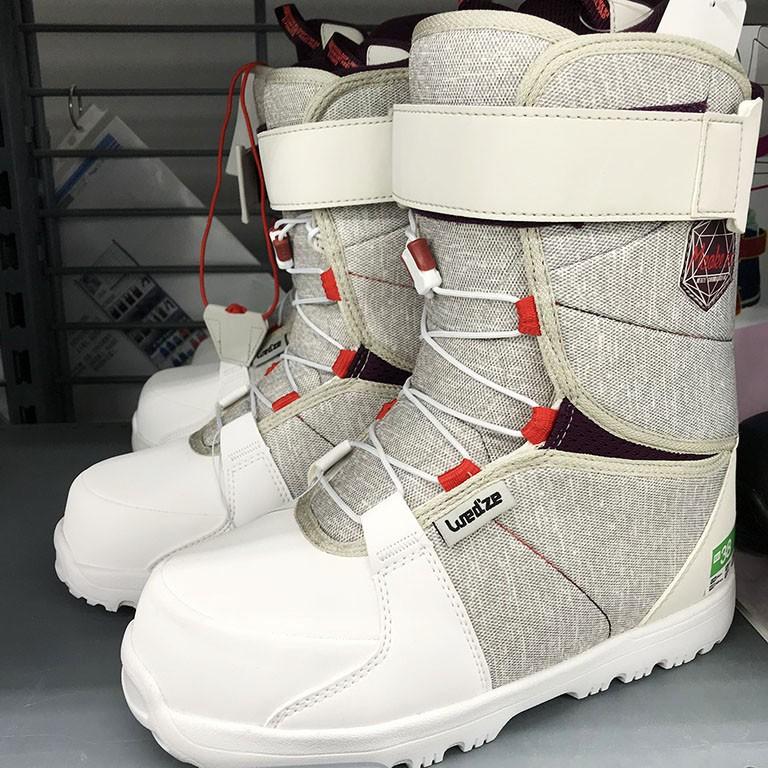 ﹍迪卡儂 戶外成人單板滑雪鞋 女 男士單板雪靴滑雪裝備包郵WEDZE1