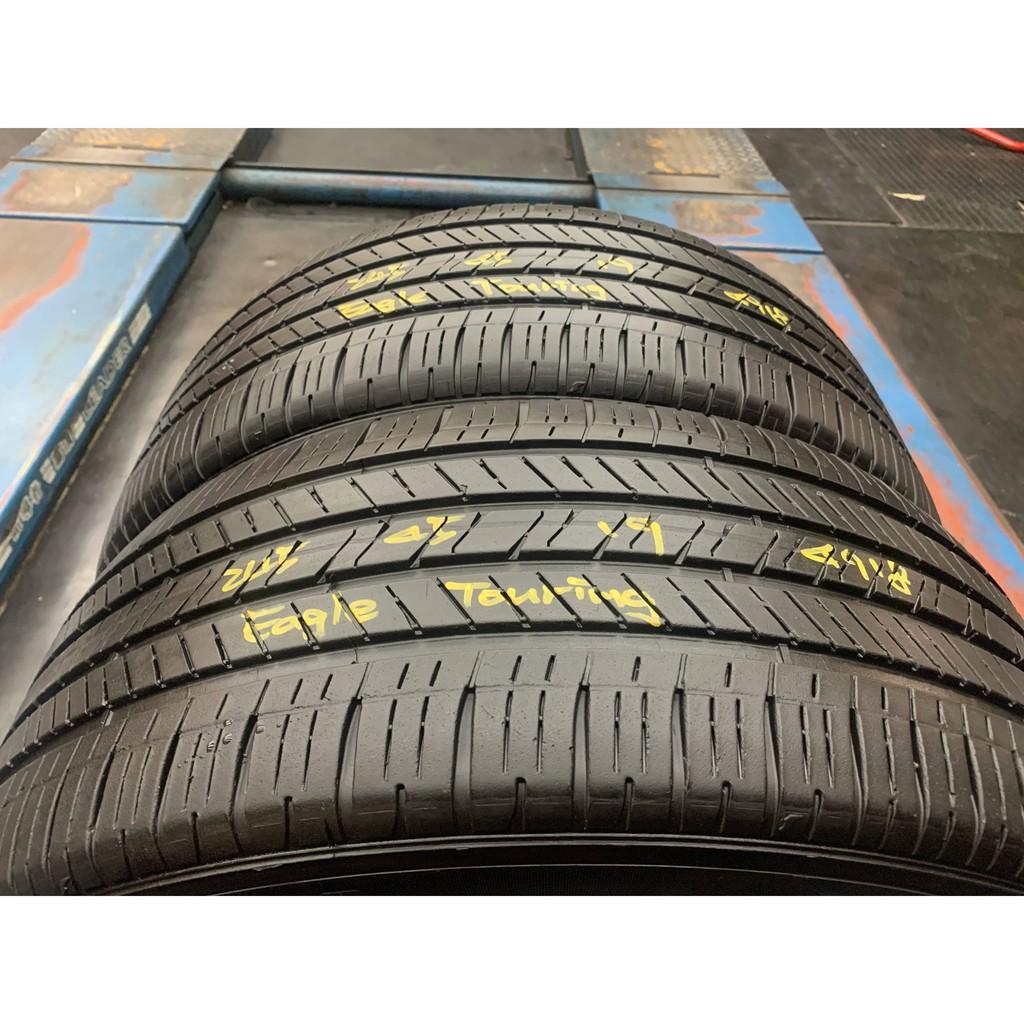 *正順車業* 中古輪胎 中古胎 落地胎 維修 保養 底盤 型號245 45 19 固特異 EAGLE TOURING 兩