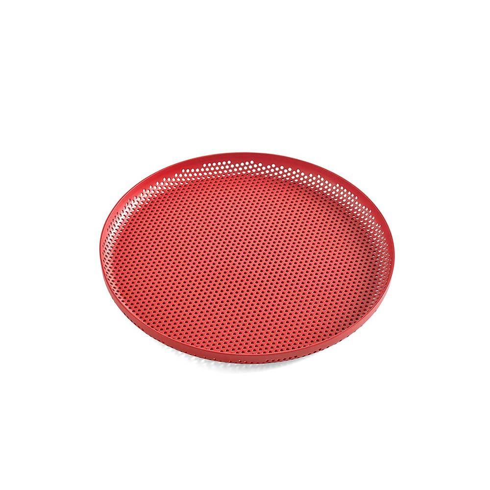 【丹麥HAY】洞洞圓形托盤M - 共2色 《WUZ屋子》收納盤 居家整理 置物架