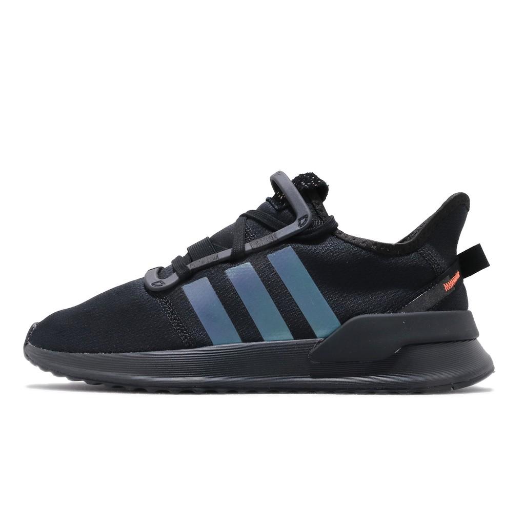 adidas 休閒鞋 U_Path Run 黑 橘 男鞋 女鞋 反光設計 襪套式 運動鞋 FW0192 【ACS】