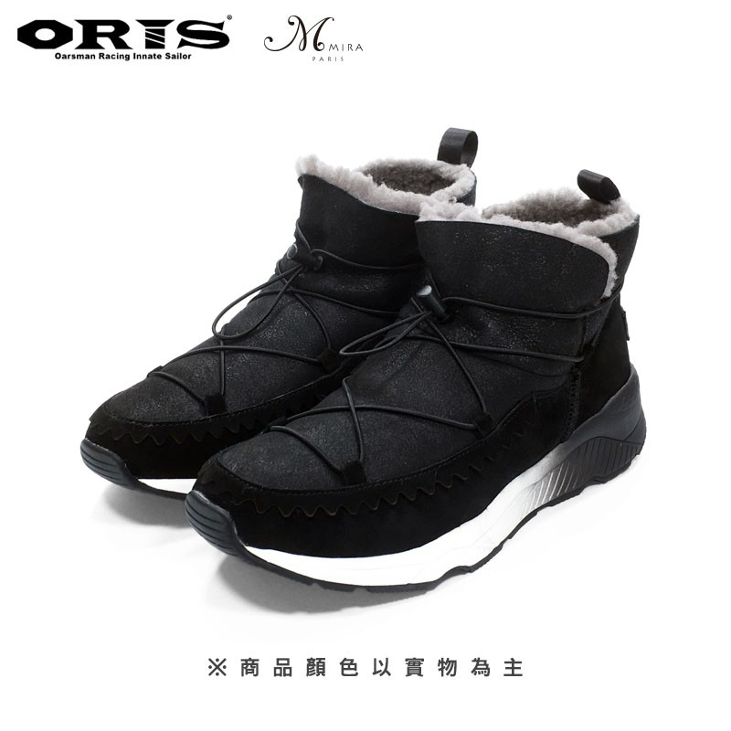 MIRA毛茸茸保暖短靴(黑) W7580B01