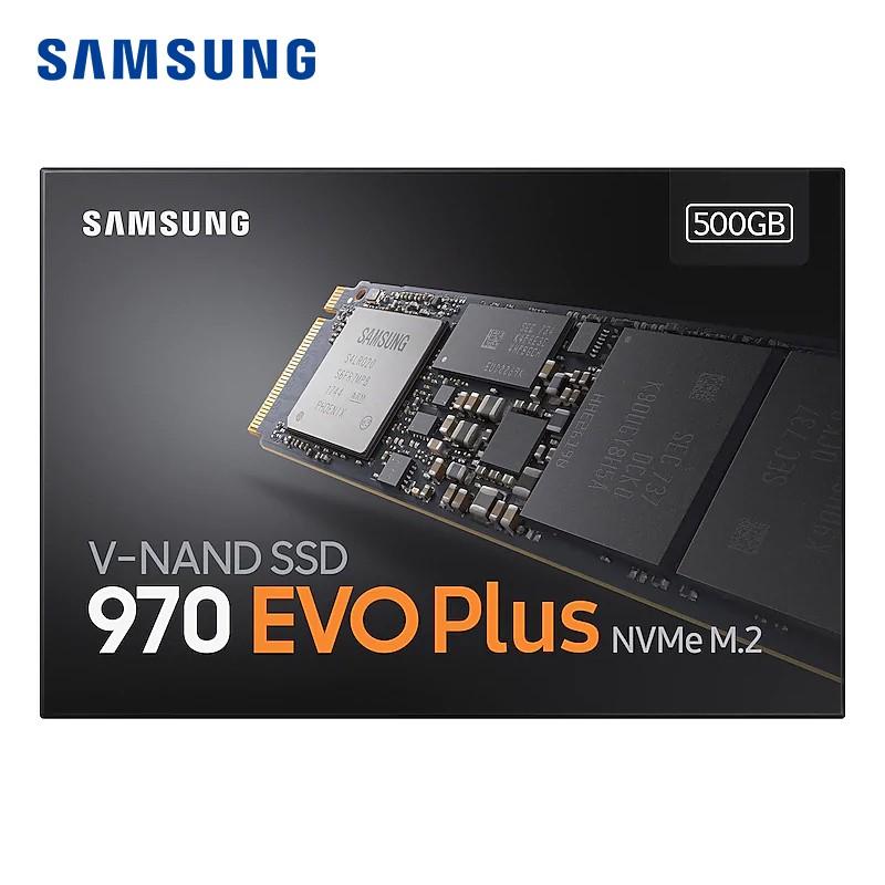 Samsung 970 Evo Plus 1TB SSD NVME m2 250GB 500GB interno est
