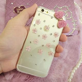 閃亮鑽殼❤️大多數型號可做HTC 820/ 825/ 826/ 830 粉色花朵蝴蝶結透明硬殼現貨 新北市