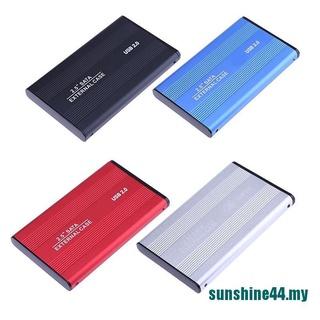 < Sun > 外部備份硬盤盒 USB 2.0 3TB 機箱 2.5 英寸便攜式 HDD Sata SSD