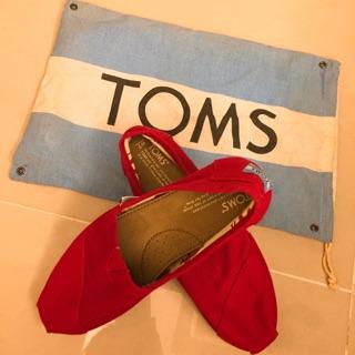 TOMS經典款女鞋(紅色) 桃園市