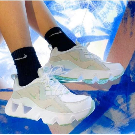 Nike RYZ 365 孫芸芸 青蘋果 厚底 增高 鋸齒 跑步 女鞋 BQ4153-101 湖水綠