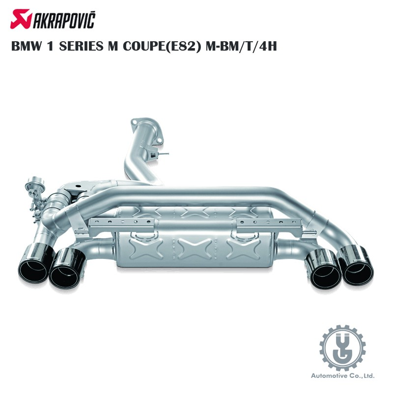 Akrapovic BMW 1 SERIES M COUPE(E82) M-BM/T/4H 排氣 空運【YGAUTO】