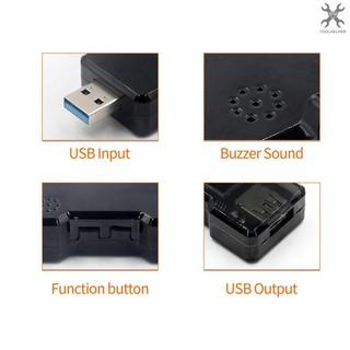 T&H FNB18 USB測試儀電壓電流容量電量計時表電源測試檢測儀指示燈USB3.0彩屏多功能安全檢測儀