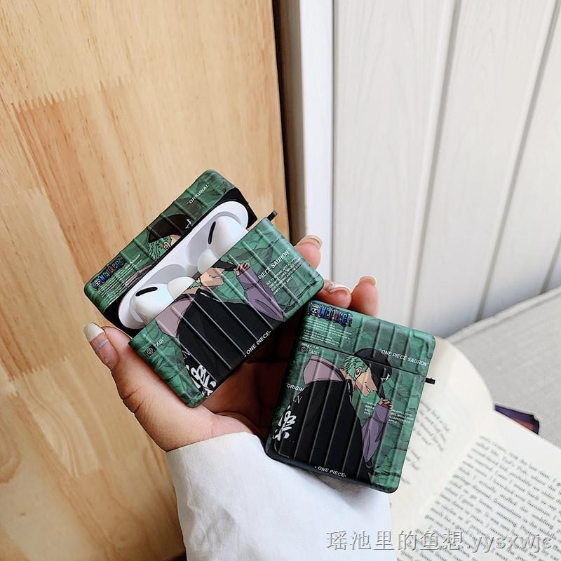 精選⭐✟⊕✇海賊王索隆Airpods pro保護套1/2適用蘋果藍牙耳機殼卡通3代防摔