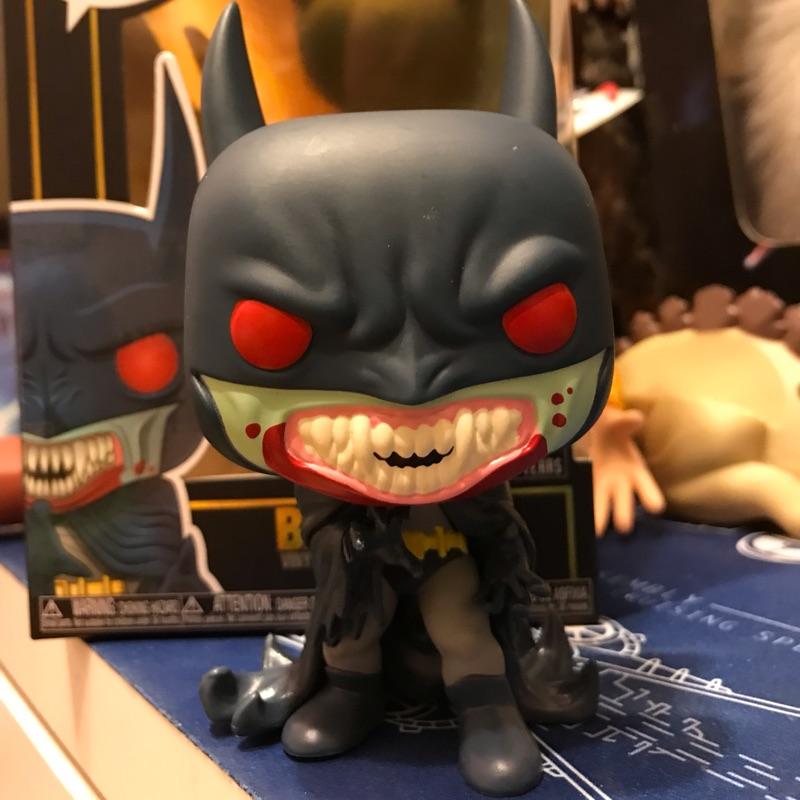 FUNKO POP DC HERO 蝙蝠俠吸血鬼 BATMAN:RED RAIN 80週年 1991年款
