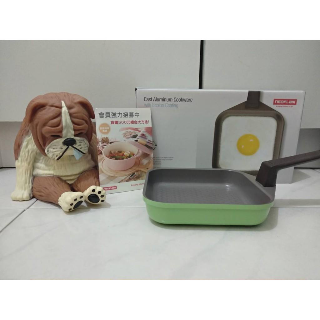 韓國NEOFLAM綠色方形韓式蛋捲鍋14cm 💖官網價:$959 原價:$1598 這賣:550💖
