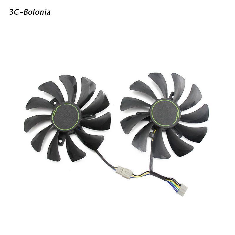 【 Pc 】 85MM HA9010H12F-Z 4Pin 冷卻風扇更換, 用於 MSI GTX 1060 OC 6G