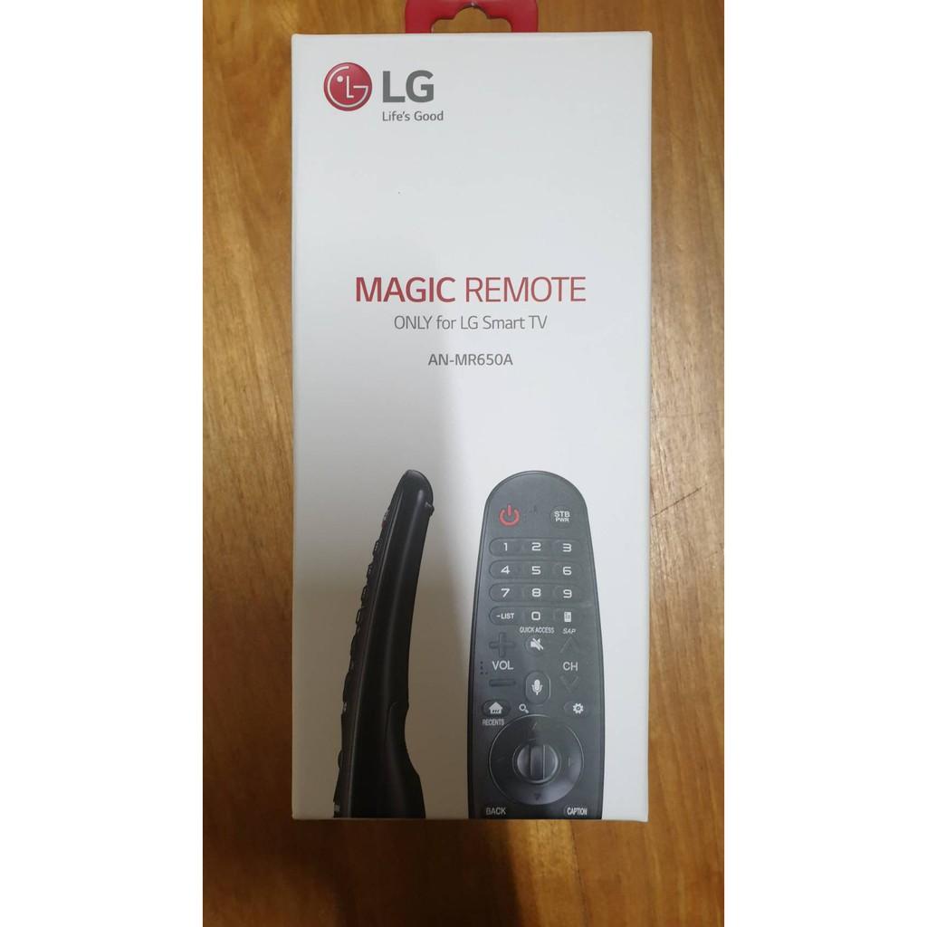 (全新)原廠LG樂金 AN-MR650A 智慧遙控器(公司貨)