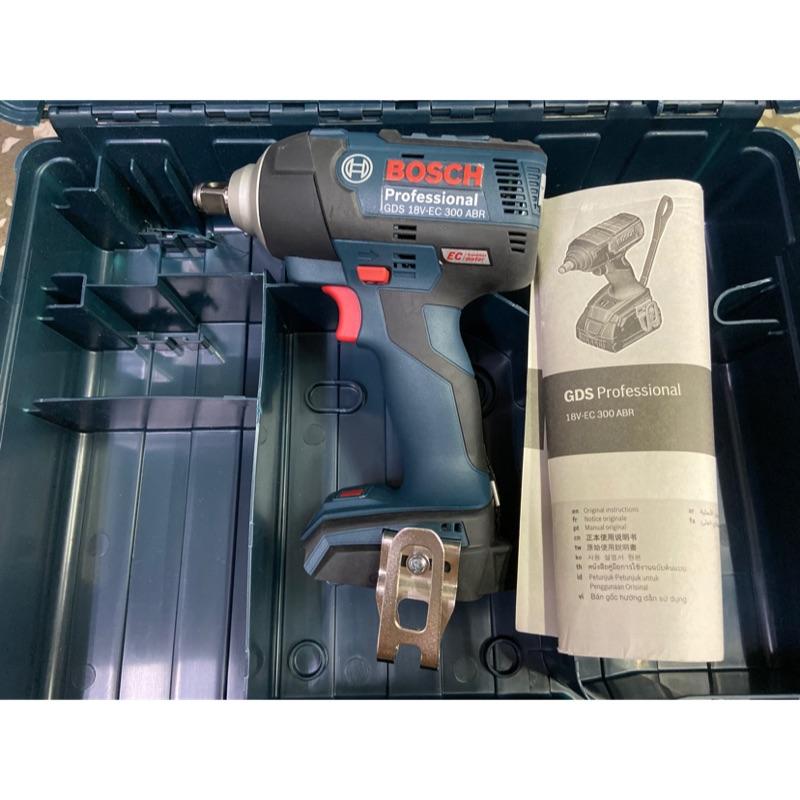 全新 博世 BOSCH GDS 18V-EC 300 ABR 空機18V 充電式 衝擊扳手 電動扳手 電動板手