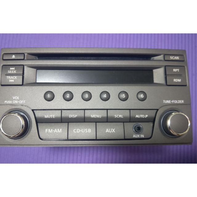 NISSAN 汽車原廠音響~CD+AM*FM+AUX~型號PU-3626N-A