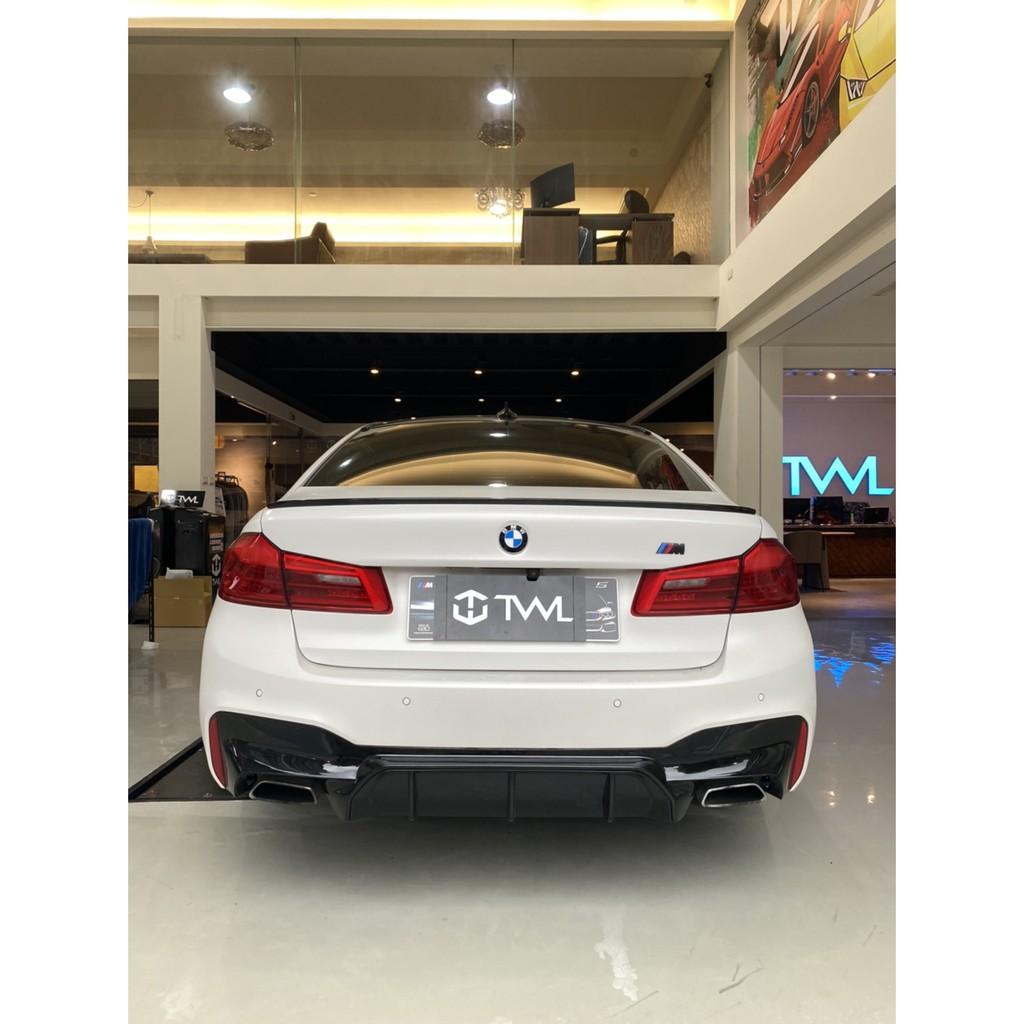 《珍藏小舖》全新寶馬BMW G30 G31 M5大五5系列M5款原廠後保桿專用OEM後中巴 後下巴素材520 530