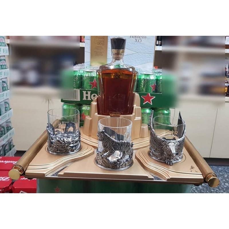 [約翰走路 Johnnie Walker]XR21 三國杯組(不含酒)虎嘯杯 龍吟杯 鷹鳴杯大江山底座|威士忌酒杯 威杯