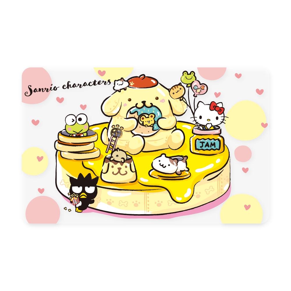 三麗鷗奇幻樂園《布丁狗鬆餅》一卡通