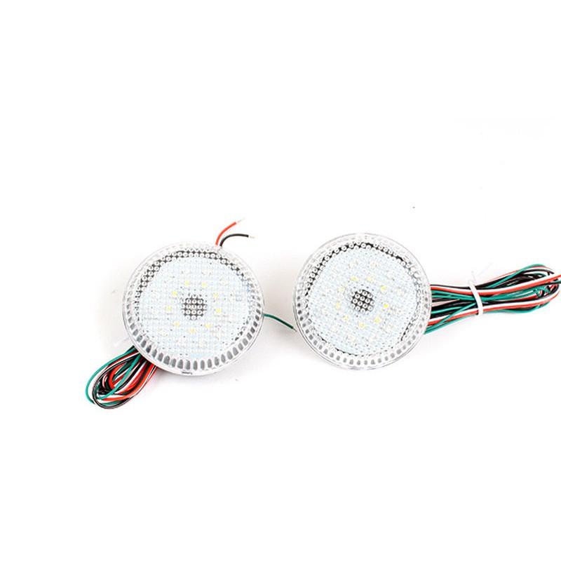 TOYOTA 豐田 Sienna SE Corolla Scion iQ xB 適用 LED後保桿燈 (透明燈殼)