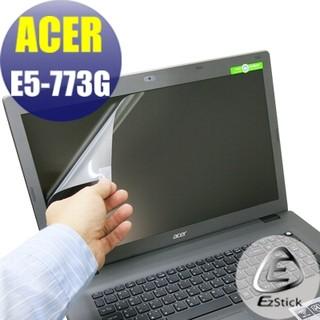 【EZstick】ACER E5-773 E5-773G 系列 靜電式筆電LCD液晶螢幕貼 (高清霧面) 台北市