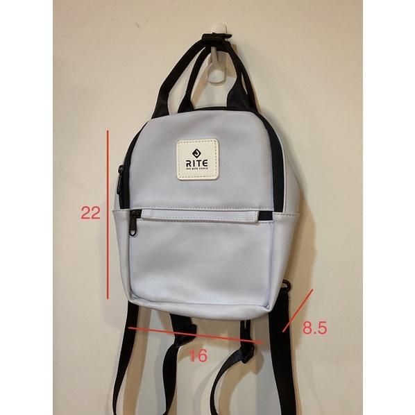RITE V3露可小包 多種背法/後背包/斜背包/手提包/白色