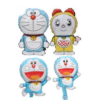 米逗寶🎈現貨24H內出貨🎈叮當貓鋁膜氣球兒童生日哆啦A夢卡通造型寶寶周歲生日布置氣球 基隆市