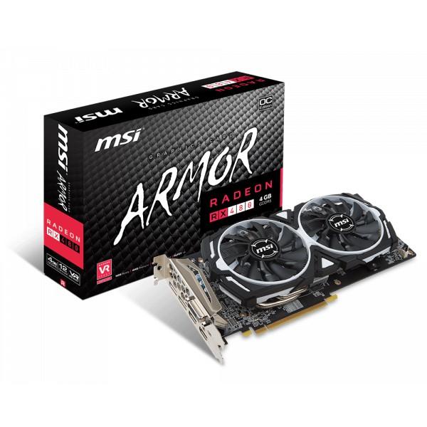RADEON RX 480 ARMOR 4G OC 微星RX480 4G 二手