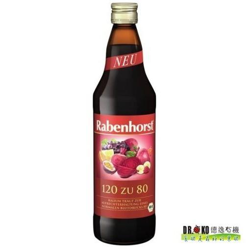 DR.OKO德逸 有機康健120/80綜合果汁 750ml/瓶