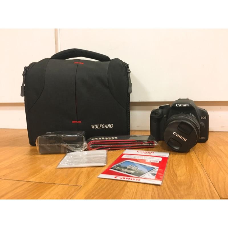 (近全新 當日出貨)Canon 500d 18-55mm 鏡頭 二手