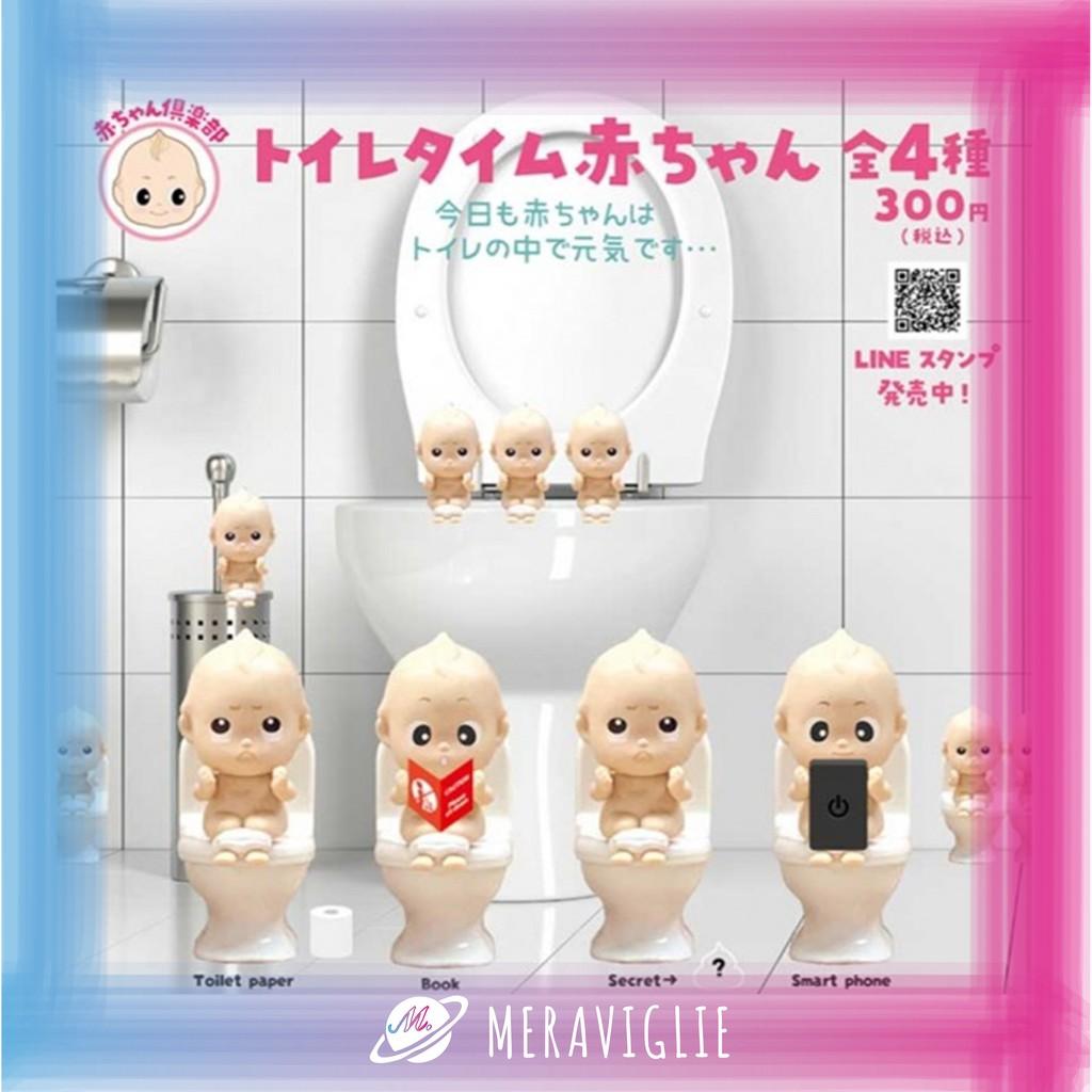 【M.M小舖】『預購』 7月 夢屋 轉蛋 扭蛋 寶寶俱樂部-廁所時光篇 小Baby 小嬰兒 小寶寶 上廁所 全4款