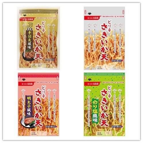 預購商品 日本 伍魚福 香酥魷魚絲 明太子魷魚絲 海苔魷魚絲 雞翅魷魚絲 辣味魷魚絲