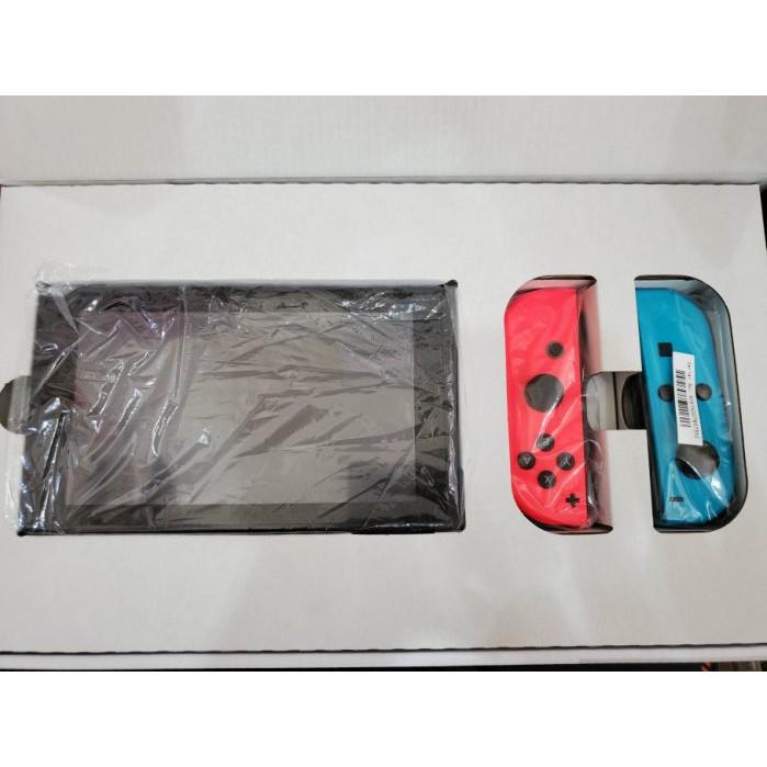 ※聯翔通訊 藍紅 任天堂 Nintendo Switch 台灣貨 少用超級新 原廠盒裝 ※換機優先
