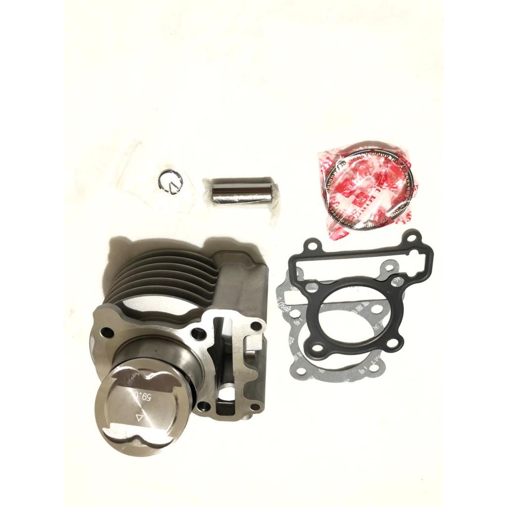 優惠 59MM  鐵缸 陶瓷 鍛造 汽缸組 一代 二代 三代 四代 五代勁戰 舊勁戰 BWS R GTR  RIK活塞環